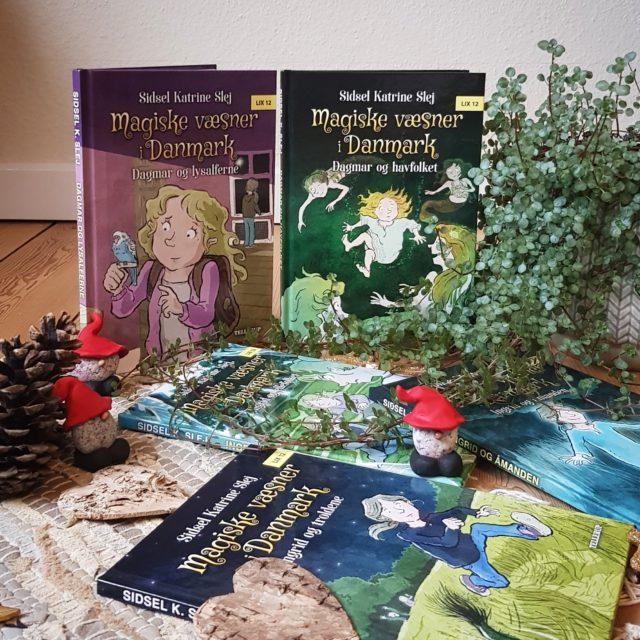 Magiske væsner i Danmark af Sidsel Katrine Slej