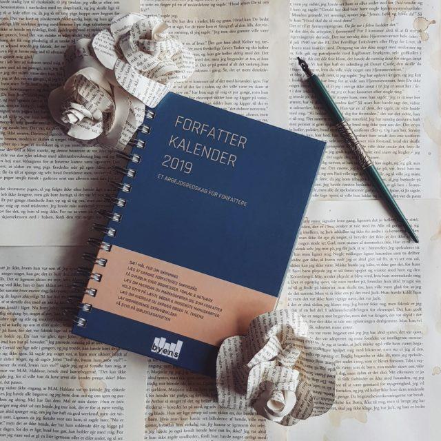 Forfatter kalender 2019 et arbejdsredskab for forfattere